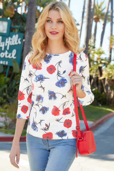 Poppy Printed Jumper