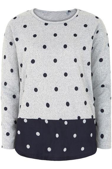 Stella Morgan Spot Print Soft Touch Sweater