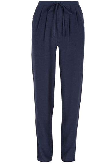 Plain Crepe Harem Trousers