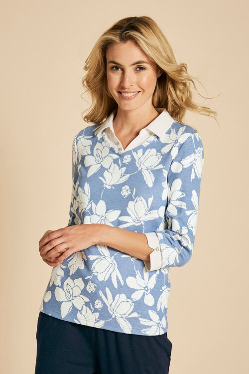 Jacquard Jersey 2in1