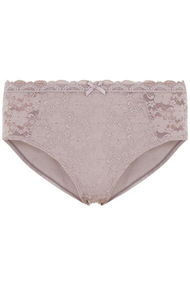 Dorina 2 Pack Lace and Plain Briefs