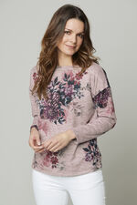 Floral Soft Touch Crew Neck Sweater