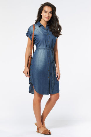 Izabel Shirt Dress