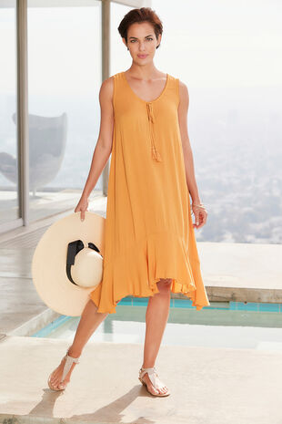 Hanky Hem Beach Dress
