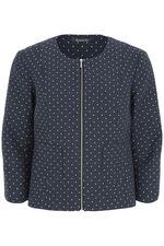 Spot Print Jacket