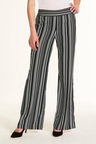 Soft Crepe Wide Leg Trouser