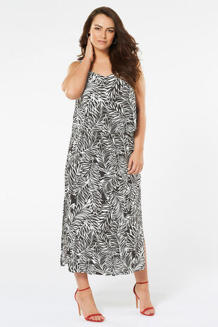 Double Layer Maxi Dress