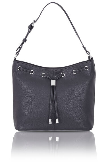 Drawstring Detail Shoulder Bag