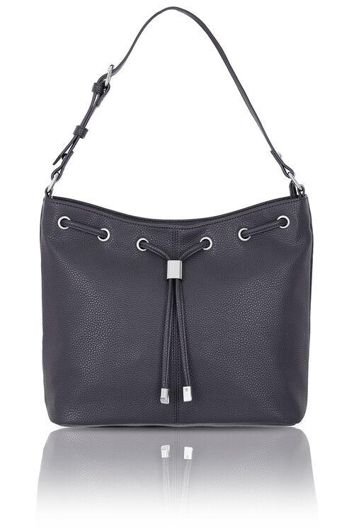 Drawstring Detail Shoulder Bag
