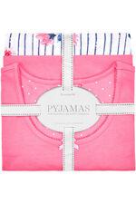 Floral Stripe Print Gift Wrapped Pyjama Set