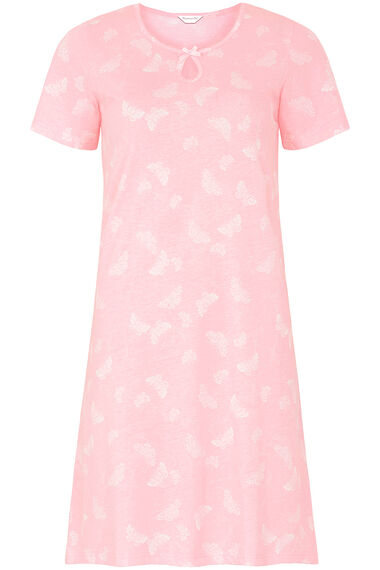 Pink Butterfly Nightshirt