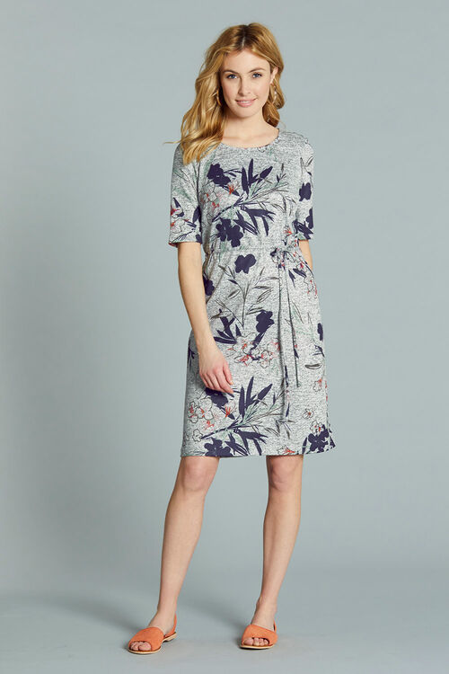 Soft Touch Belted Dress