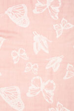 Double Faced Butterfly Printed Scarf