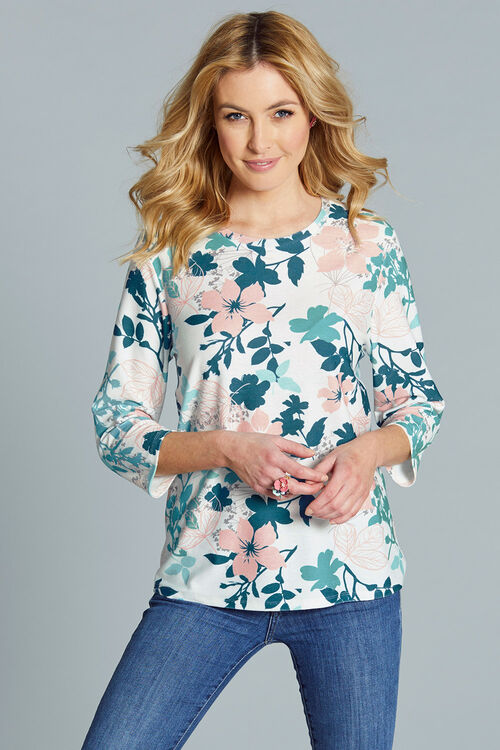 Floral Printed Sweat