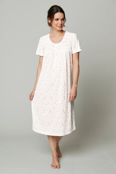 Bow Floral Nightdress