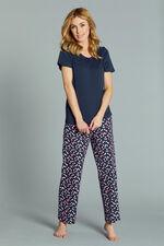 Spot Print Gift Wrapped Pyjama Set