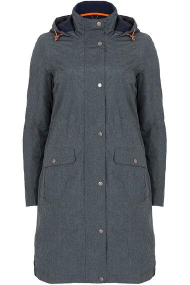 Longer Length Fleece Lined Waterproof Coat