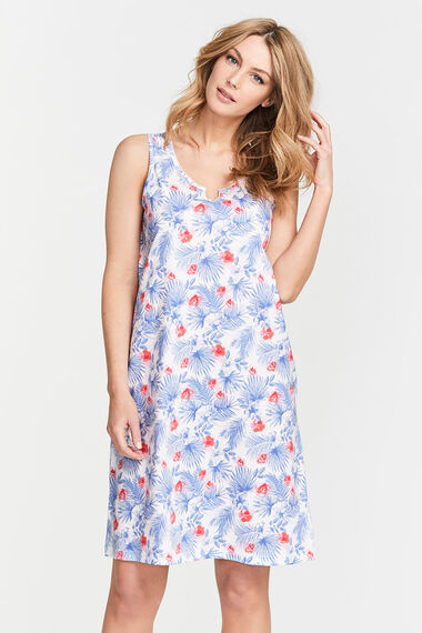 Tropical Leaf Nightdress