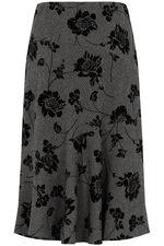 Tweed Flock Skirt