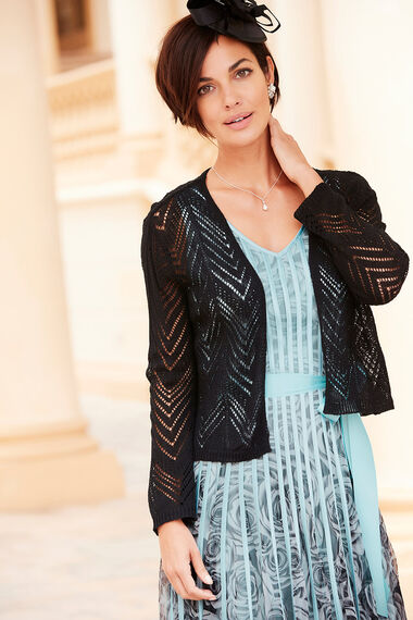 Chevron Stripe Cardigan