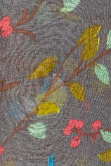 Totes Garden and Bird Printed Scarf