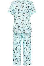 Owl Leaf Print Pyjamas