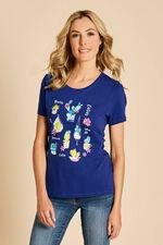 Cactus Print T-Shirt