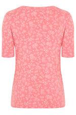 Pure Cotton Half Sleeve Printed T-Shirt