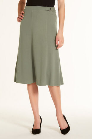 D-Ring A Midi Skirt