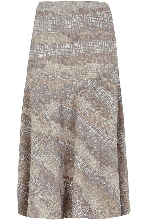 Printed Flippy Skirt