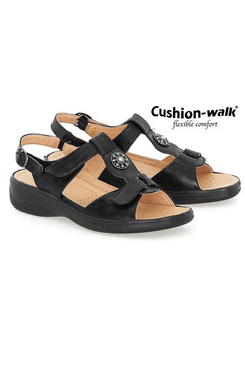 Cushion Walk Touch Fasten Sling Back Sandal