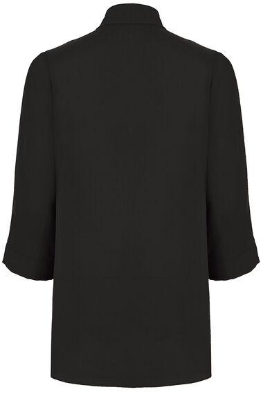 Plain 3/4 Sleeve Cover Up