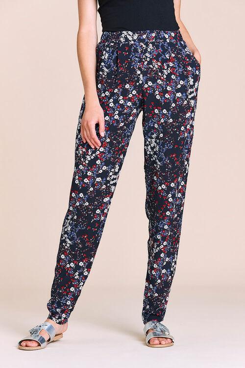 Ditzy Floral Harem Trousers
