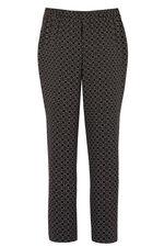 Mono Tile Crepe Trouser