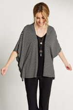 Monochrome Top with Necklace