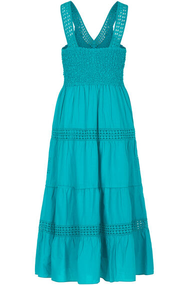 Tiered Cotton Maxi Dress