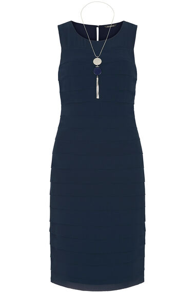 Shutter Dress with Necklace