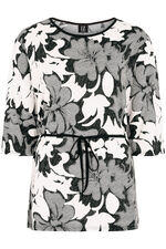 Izabel Floral Tunic With Tie