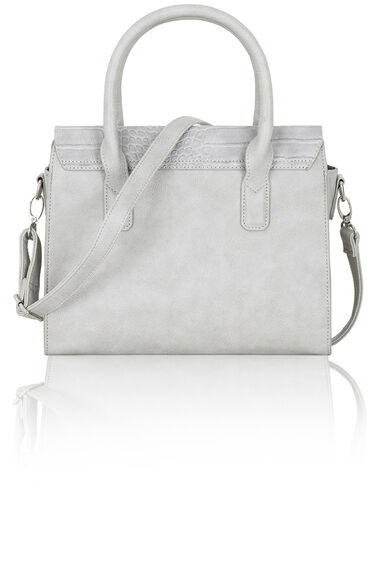Mock Croc Tote Bag with Strap