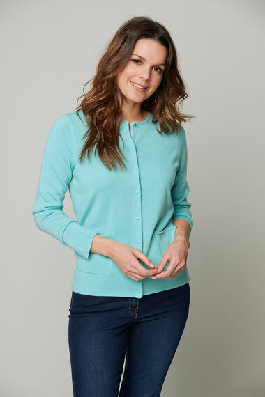 Supersoft Round Neck Cardigan