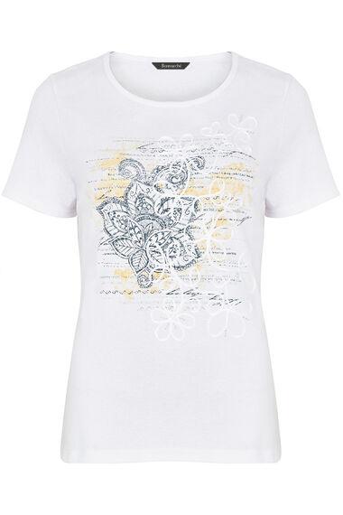Placement Cornelli Scoop T-Shirt