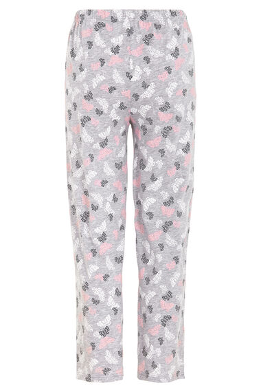 Gift Wrapped Butterfly Print PJ Set