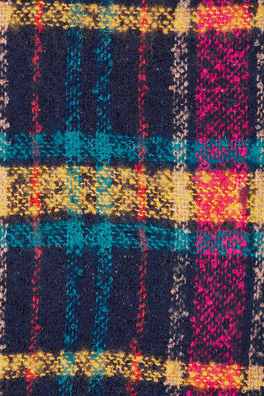 Bright Checked Scarf