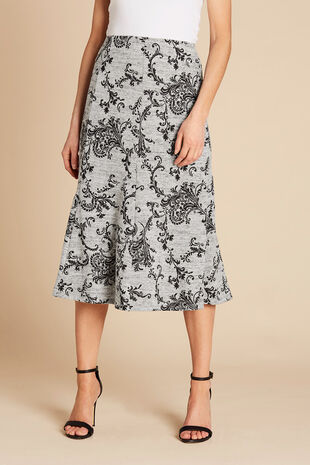 Super Soft Printed Skirt