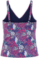 Dorina Feather Print Tankini Top