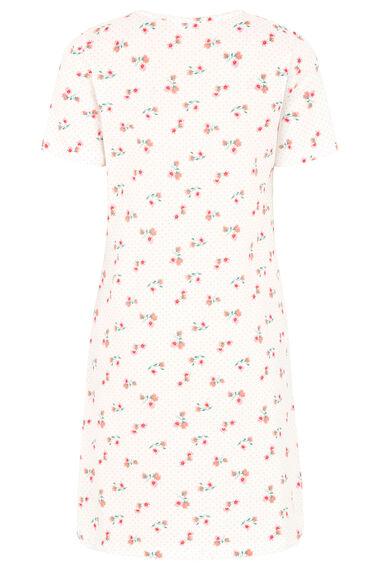 Spot Floral Nightshirt