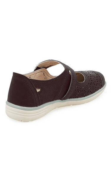 Cushion Walk Touch Fasten Bar Shoe
