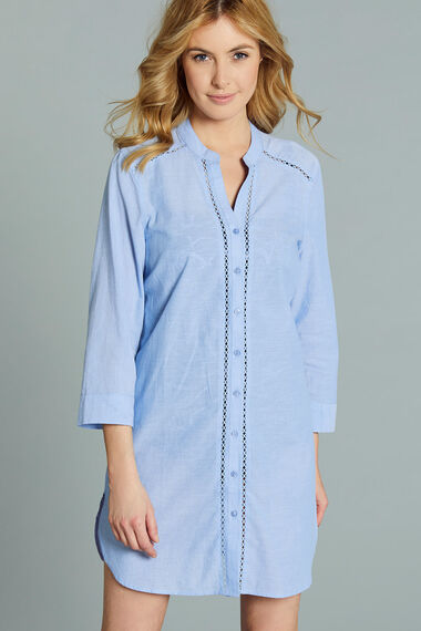 Pure Cotton Lightweight Chambray Shirt