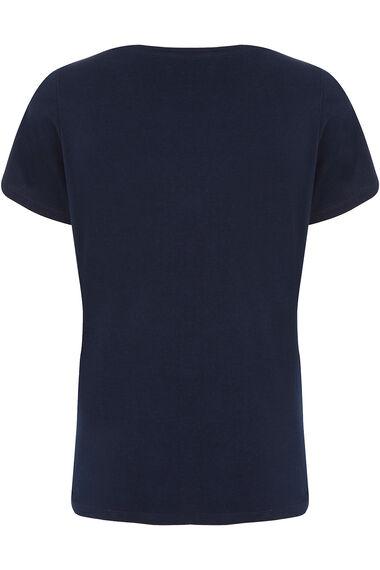 Fashion Illustration Print T-Shirt