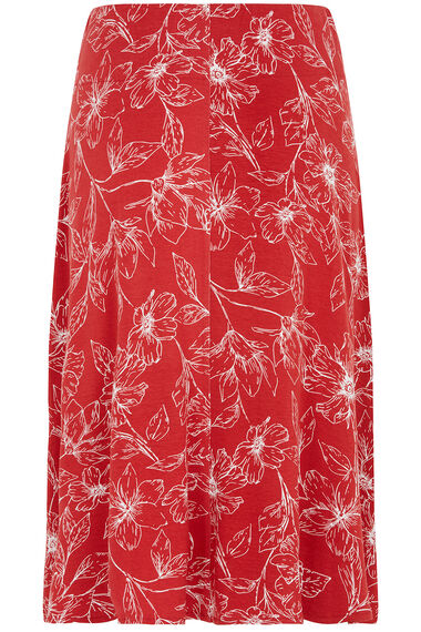 Jersey Printed Skirt